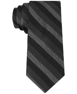 Calvin Klein  - Graphic Stripe Skinny Tie