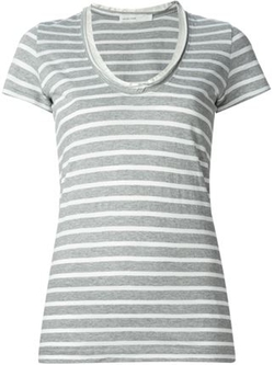 Sacai Luck - Striped T-Shirt