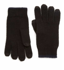 Saks Fifth Avenue Collection  - Color-Tipped Cashmere Gloves