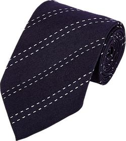 Armani Collezioni - Diagonal-Striped Twill Necktie