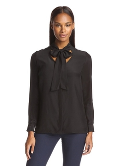 Jay Godfrey  - Penn Tie Neck Blouse