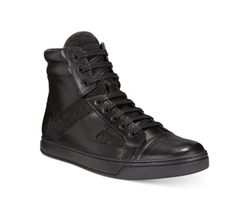 Kenneth Cole - Swag-Er Mixed Media High-Top Sneaker