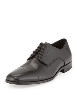 Hugo Boss - Mattion Leather Lace-Up Oxford