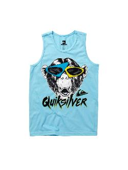 Quiksilver - Boys 8-16 Monkey Biz Tank Top