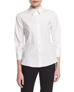 Carolina Herrera  - Basic Button-Front Shirt