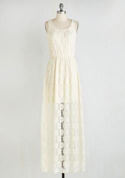 Mod Cloth - Lace Maxi Dress