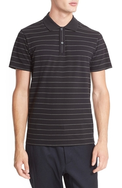 Marc Jacobs  - Stripe Cotton Piqué Polo Shirt