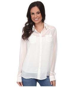 Stetson  - Solid Georgette Wstn Shirt