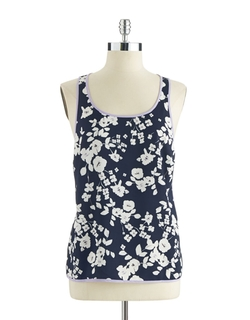 Vince Camuto - Floral Tank Top