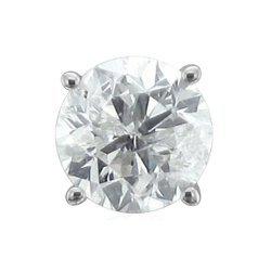 Diamond Delight - White Gold Diamond Princess Cut Stud Earrings