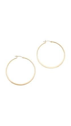 Jennifer Zeuner Jewelry - Small Hoop Earrings