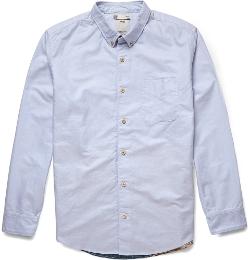 Visvim - Panelled Cotton-Chambray Shirt