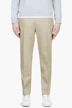 ACNE STUDIOS - Beige Sam Dot Trousers
