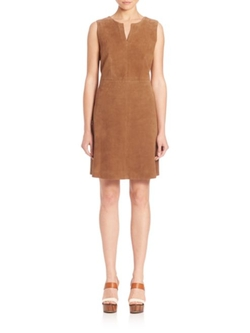 Weekend Max Mara  - Lente Sleeveless Suede Dress