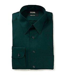 Murano  - Solid Point-Collar Liquid Cotton Dress Shirt