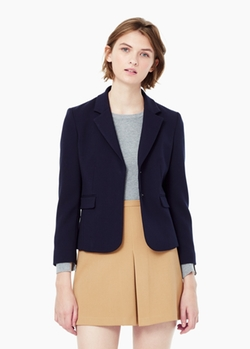Mango - Cotton Suit Blazer