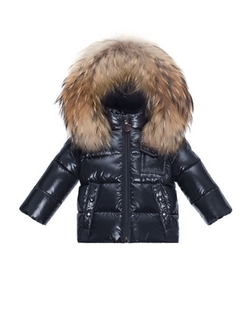Moncler  - K2 Hooded Fur-Trim Puffer Coat