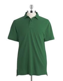 Hudson North  - Short Sleeved Cotton Polo Shirt
