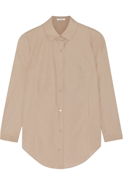 Carven - Cotton-Poplin Shirt