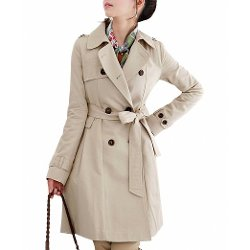 DJT - Long Trench Coat with Belt