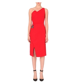Antonio Berardi - One-Shoulder Crepe Dress