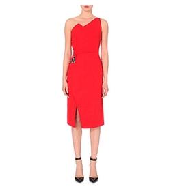 Antonio Berardi - One-Shoulder Crepe Dress
