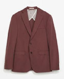 ZARA - COTTON BLAZER