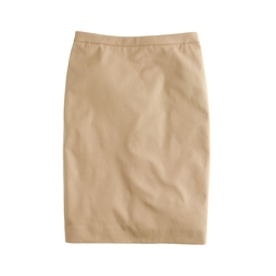 J. Crew - Tall Pencil Skirt in Stretch Cotton