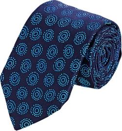 Barneys New York - Circle & Dot Jacquard Necktie