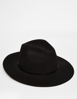 Catarzi  - Wide Brim Unstructured Fedora Hat