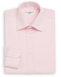 Yves Saint Laurent - Regular-Fit Cotton Dress Shirt