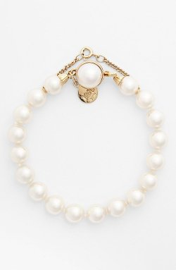 Majorica  - Single Row Pearl Bracelet
