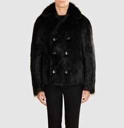 Gucci - Double-Breasted Fur Coat
