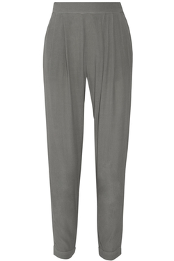 Enza Costa - Crepe Straight-Leg Pants