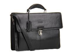 Kenneth Cole Reaction  - Leather Slim Flapover Portfolio