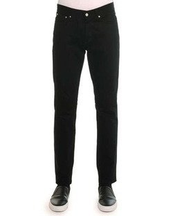 Givenchy - Denim Pants With Leather Back-Pocket