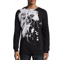 PRPS - Stamped Cherub Graphic Printed Pullover