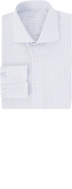 Uman - Shadow Stripe Dress Shirt