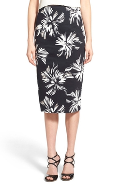 Chelsea28  - High Waist Floral Pencil Skirt