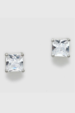 Pretty Little Things - Square Diamond Earrings