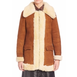 Saint Laurent  - Vintage Shearling Coat