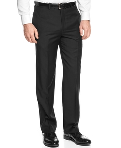Greg Norman - Tasso Elba Solid Black Pants