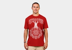 Design by Humans - Yggdrasil Tree Of Life Tee