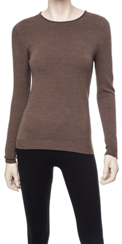 Leon Max - Stretch Wool Crepe Pullover
