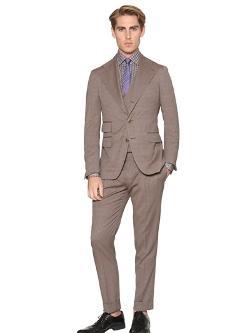 Gabriele Pasini - Wool Blend Jacquard Suit