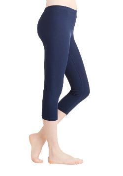 Modcloth - Rise to the Crop Legging in Navy