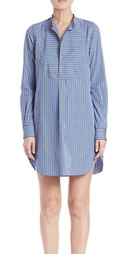 Polo Ralph Lauren - Striped Poplin Shirtdress
