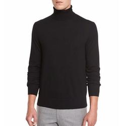 Neiman Marcus - Cashmere-Silk Turtleneck Sweater