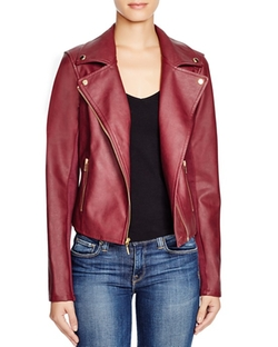 Guess - Mikayla Faux Leather Moto Jacket