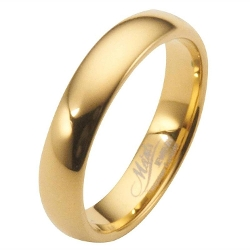 Metals Jewelry - Polished Tungsten Wedding Ring